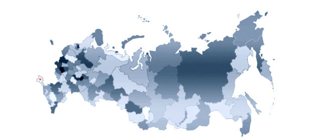 Russian Regions Map US Russia Business Council - Us russia map